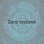 Dane testowe