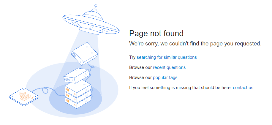 StackOverflow - 404 Page