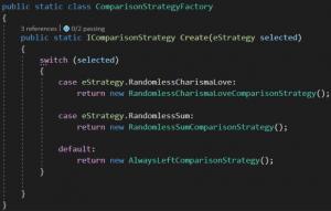 Fabryka strategii porównywania