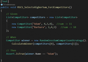 Test RSCS_SelectHigherSum_For2Competitors